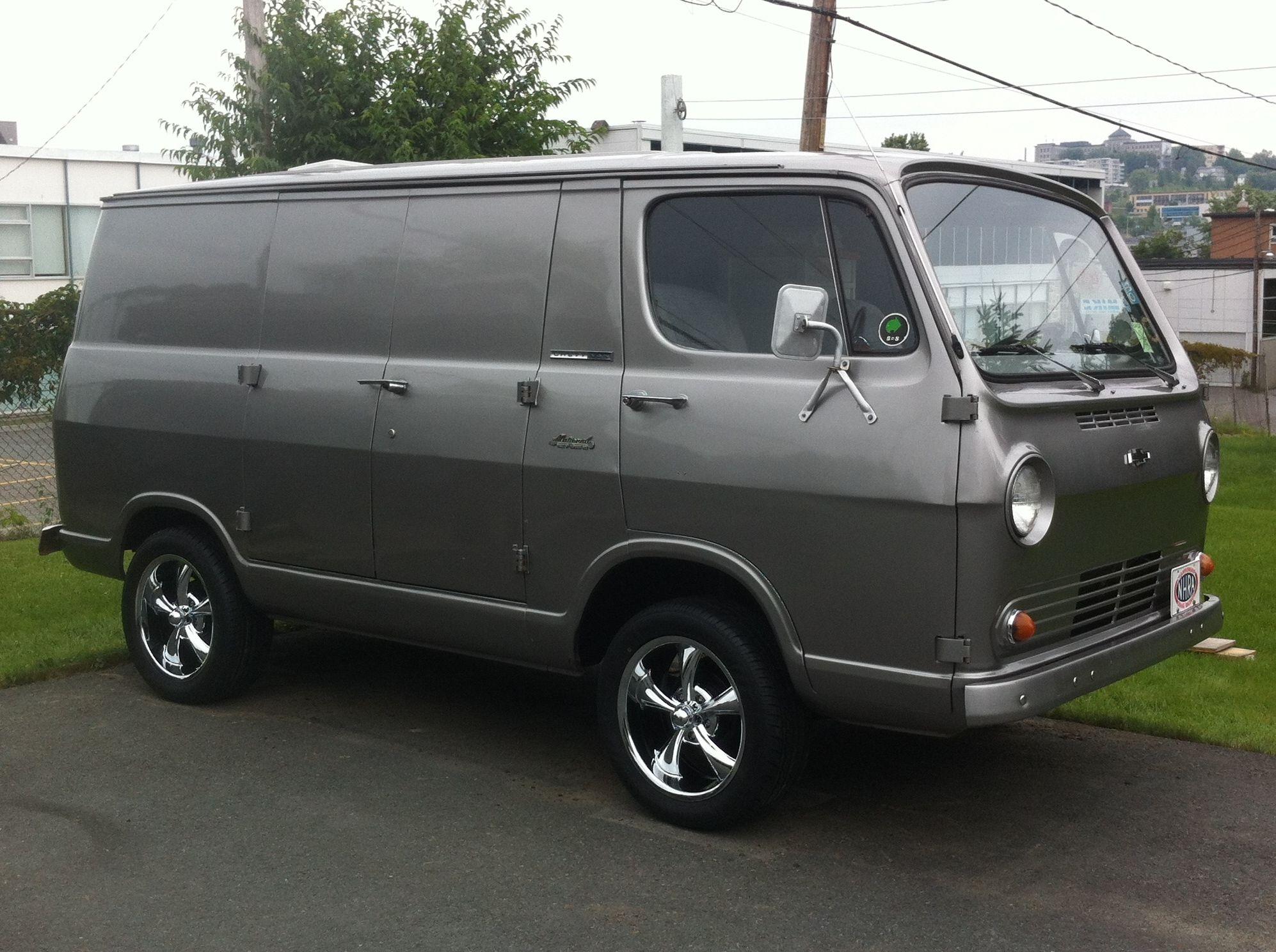1966 Chevrolet Deluxe Sportvan | Chevrolet, Chevy vans and Cars