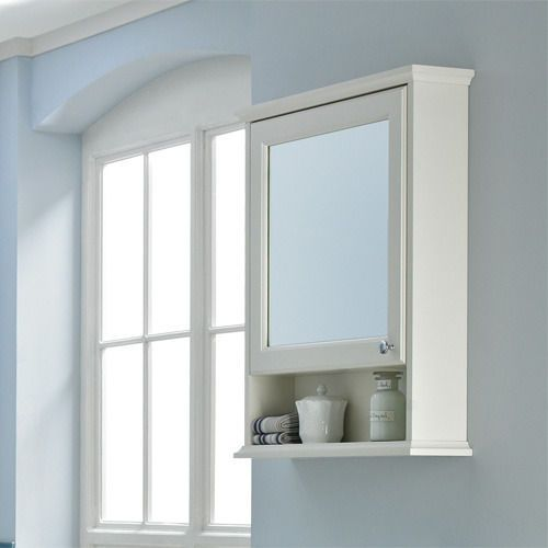 Find This Pin And More On Bathroom Ideas By Jocriley Savoy Old English White 600 Mirror Unit Wall Storage Cabinet