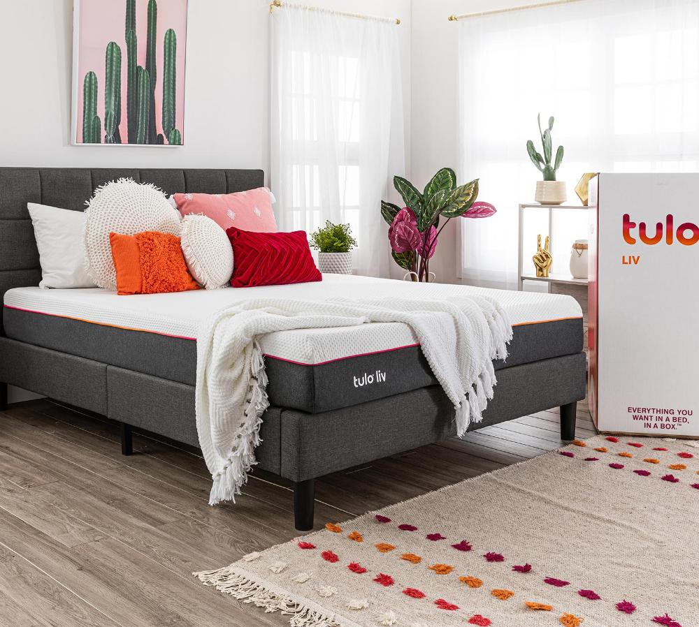 tulo liv Mattress in 2020 | Adjustable beds, Box bed, Mattress