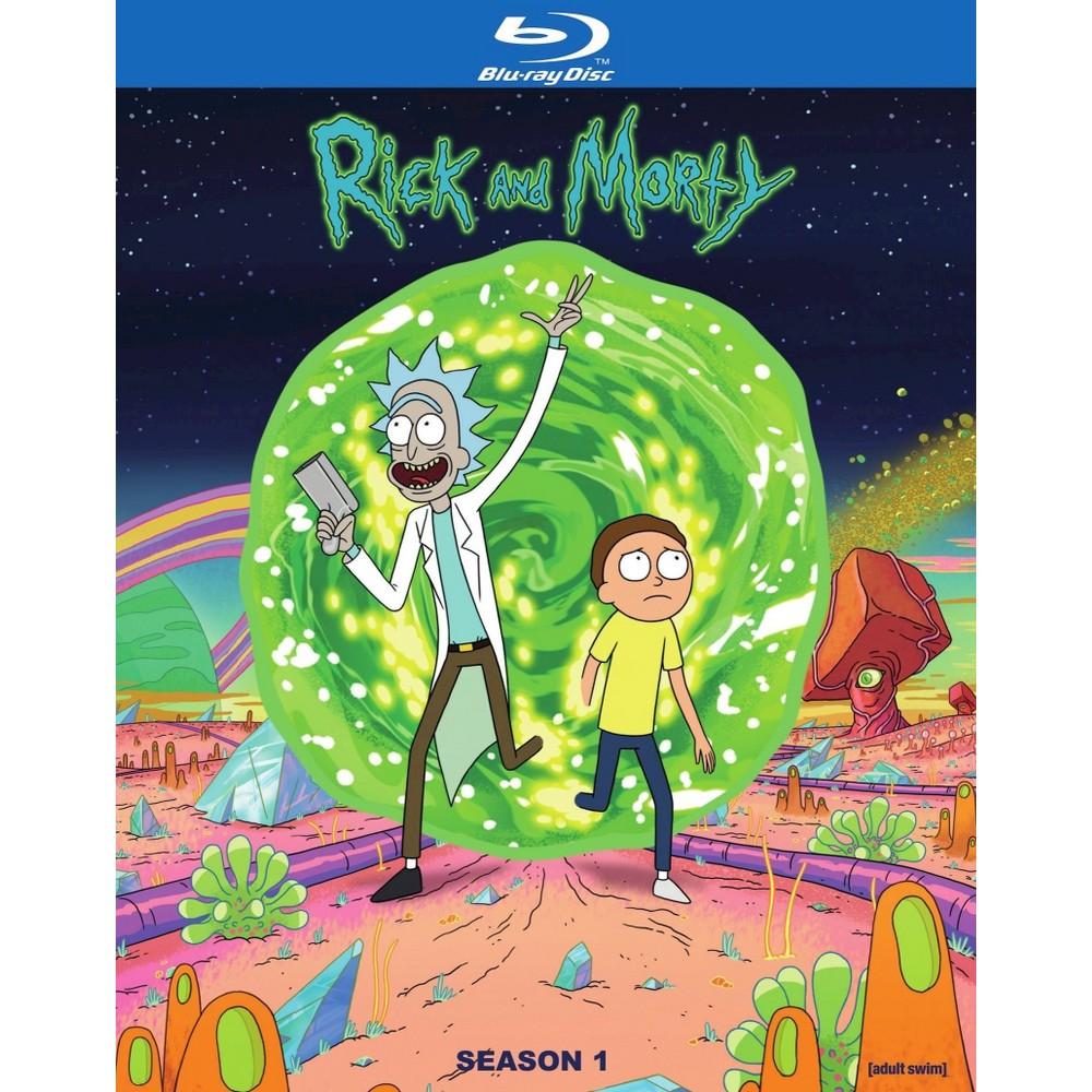 Rick And Morty Season 1 Blu Ray 2014 Rick And Morty Poster Rick And Morty Season Watch Rick And Morty