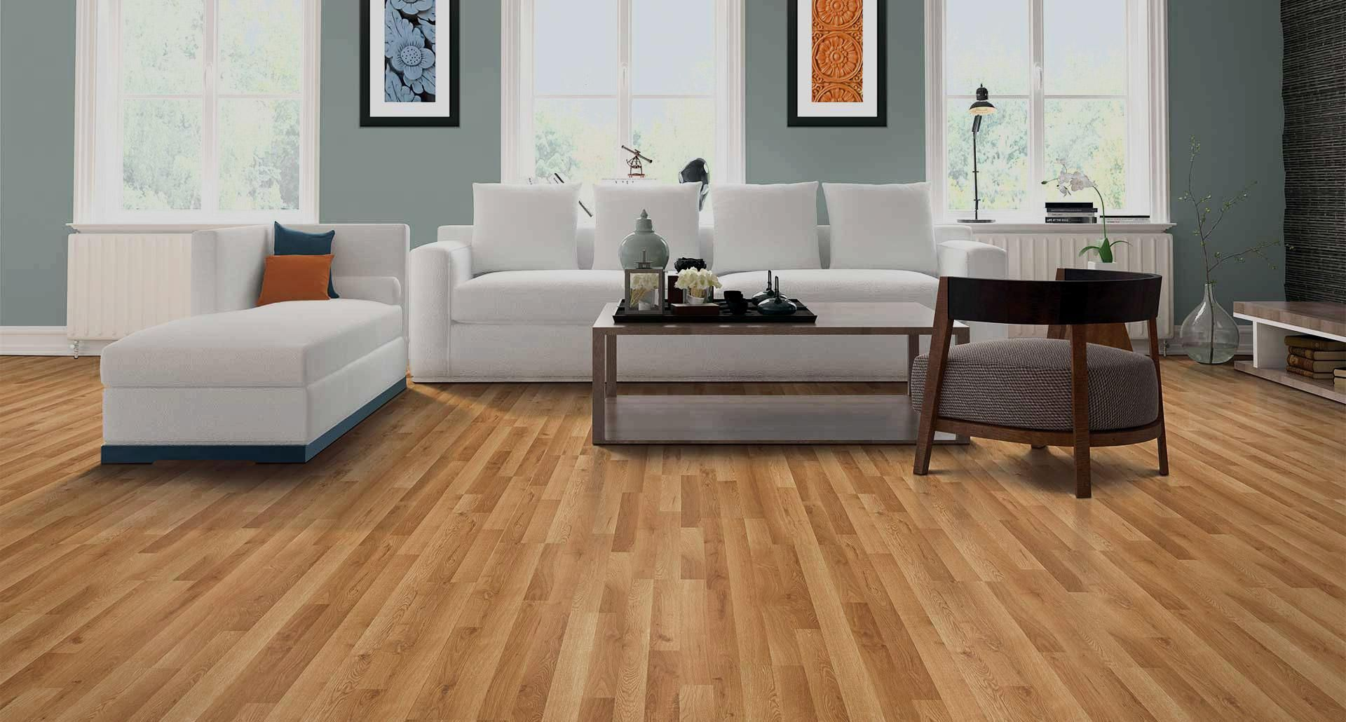 Light Wooden Vinyl Flooring Plank Living Room Decor Inspiration Greige Living Room Living Room Sets