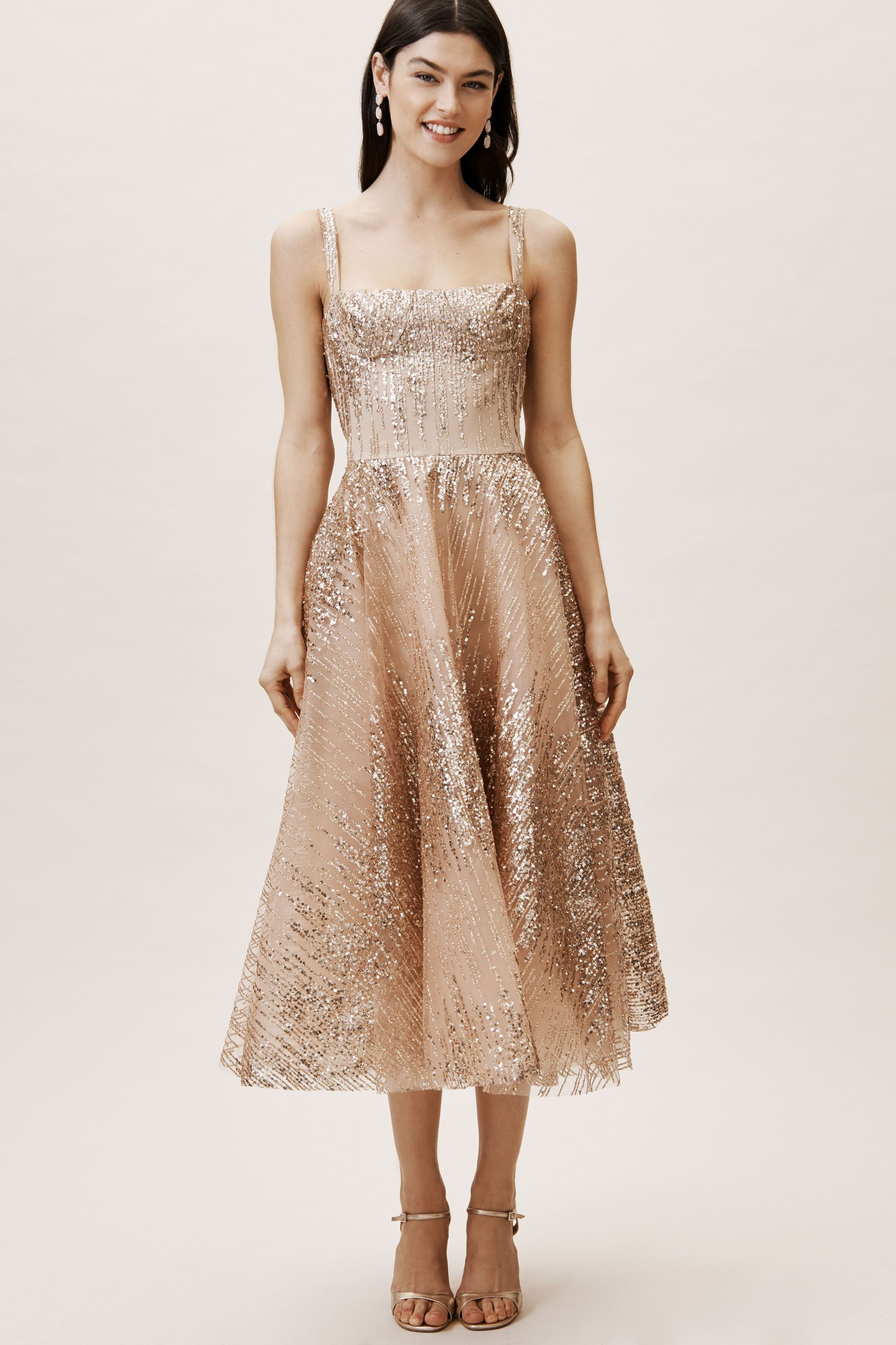 fd579cdce5f52d Pink Gold Mademoiselle Dress   BHLDN   D R E S S in 2019   Dresses ...