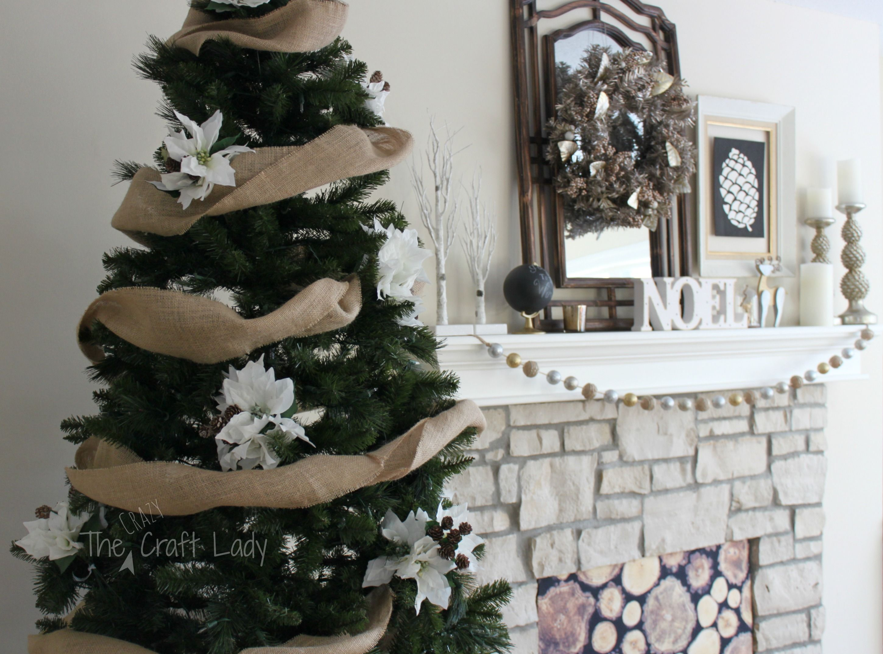 Easy Diy Christmas Tree Decorations For Under 30
