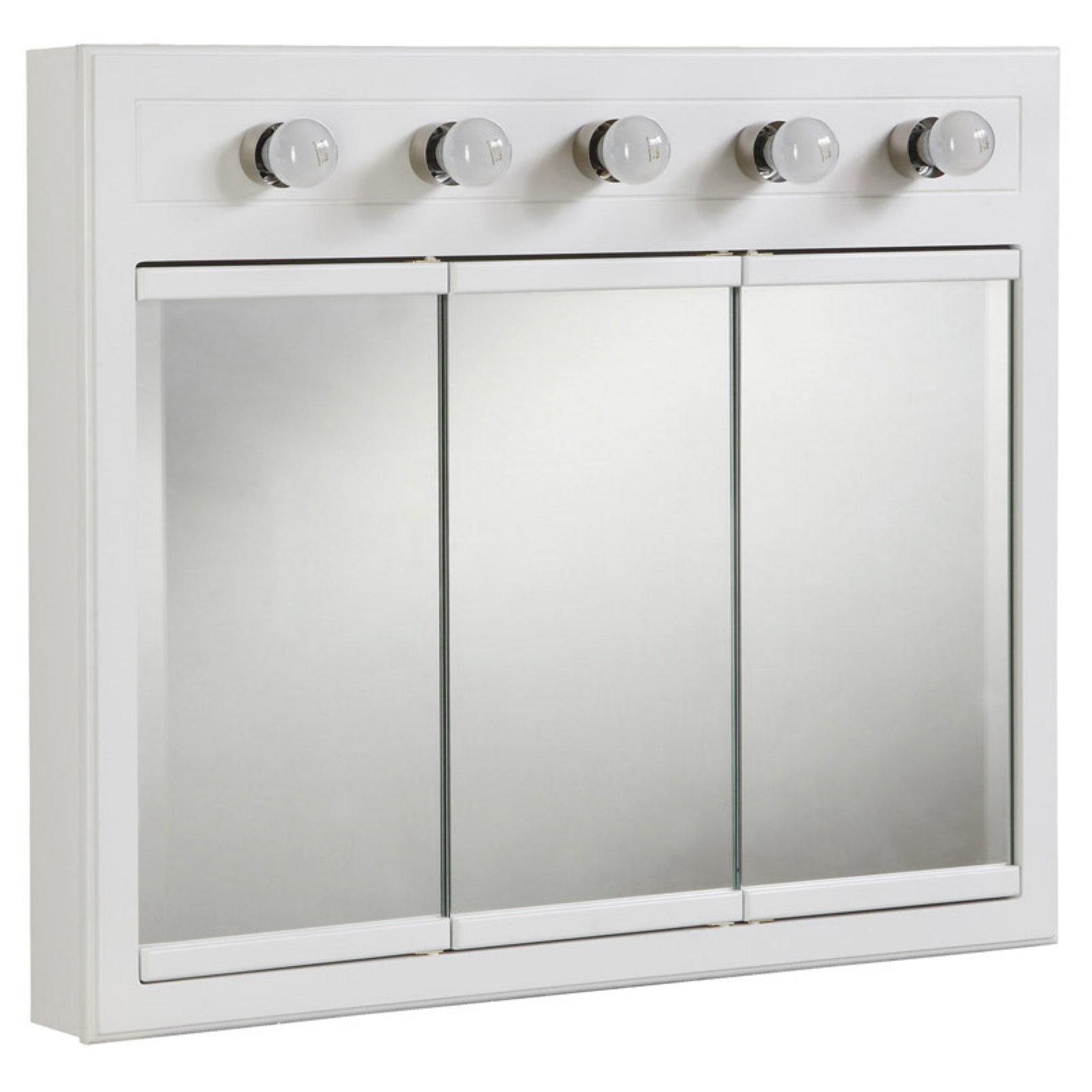 Design House Concord 5 Light Medicine Cabinet Mirror with ...