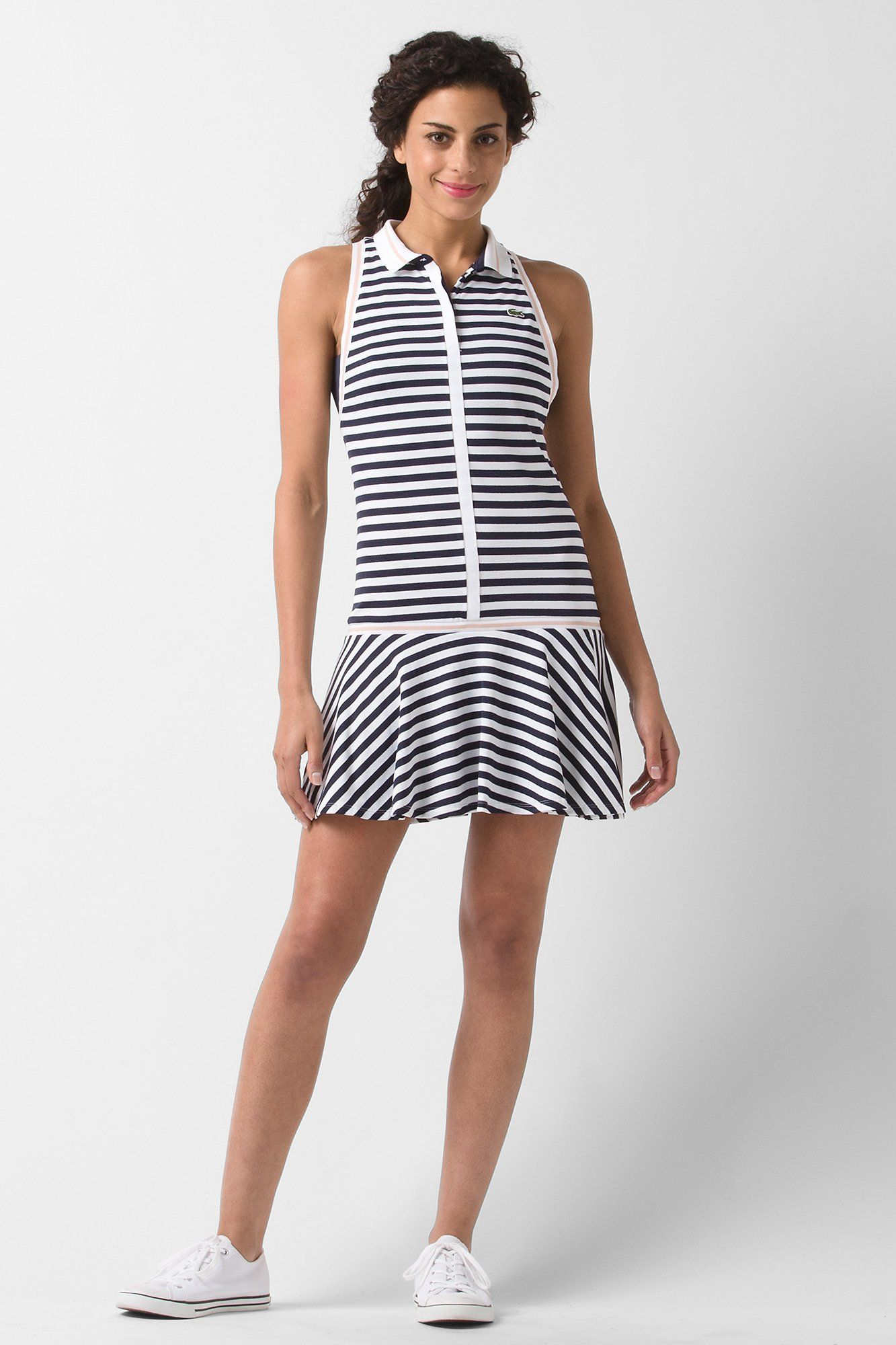 Lacoste Sleeveless Technical Pique Pleated Tennis Dress Dresses Pleated Tennis Dress Tennis Dress Clothes