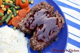 Mommy's Kitchen - Country Cooking & Family Friendly Recipes: Honey Barbecue Meatloaf