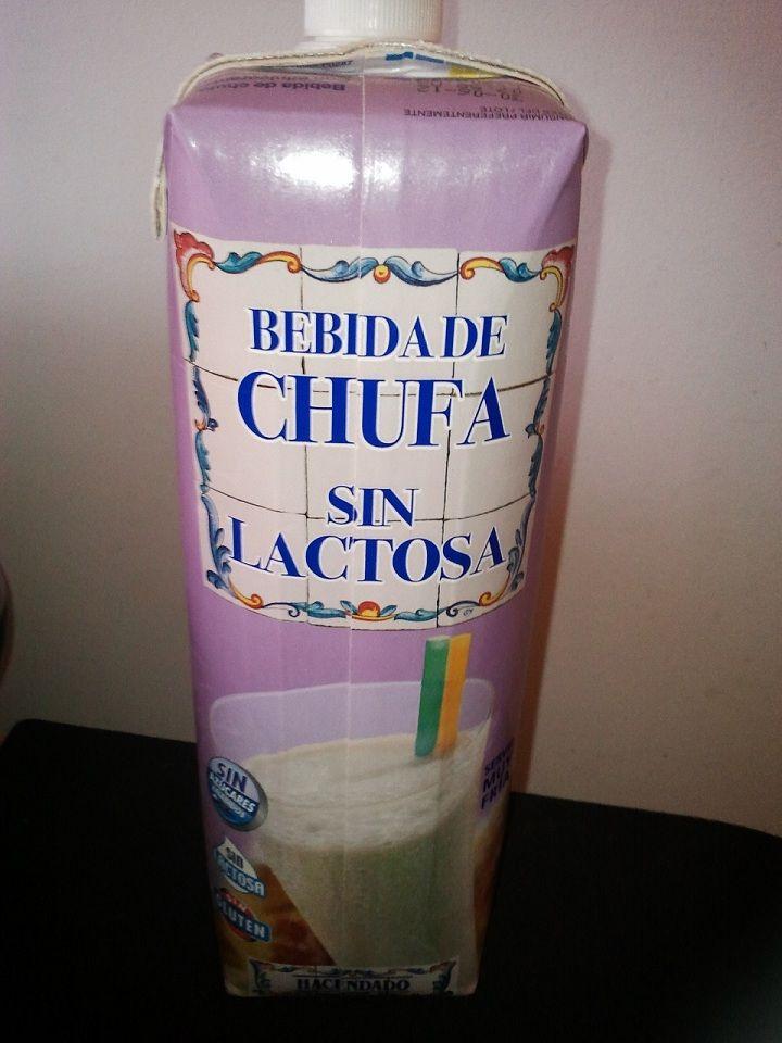Horchata Hacendado Mercadona Sin Lactosa Alergias Sin Lactosa