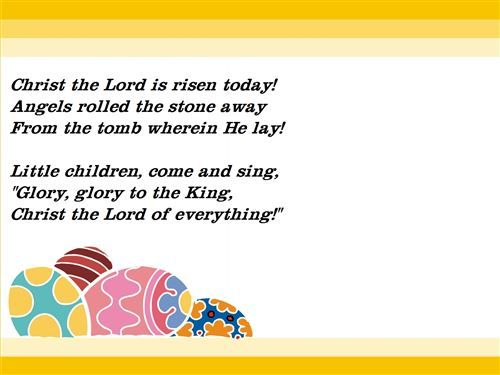 easter poems about jesus for kids | Easter Day By Evaleen ...