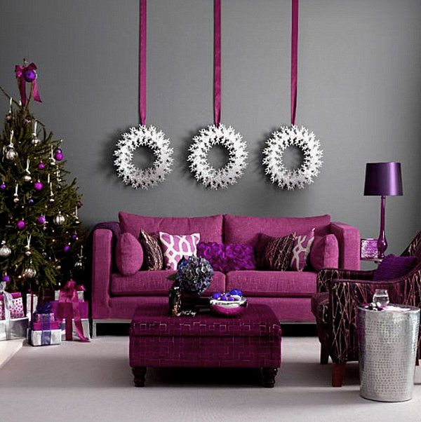 Awesome Christmas Decorations with Modern Jewel Toned   Christmas ...