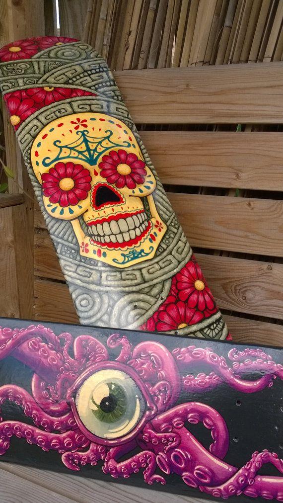 The 25 best custom skateboards ideas on pinterest for Best paint for skateboard decks