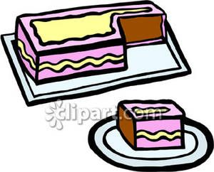 clip art sheet cakes piece cut from a sheet cake royalty free rh pinterest com