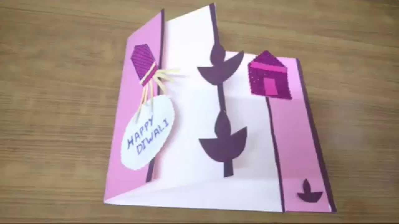 Make Happy Diwali Greeting Cardsdiwali Greetings Diwali Craft
