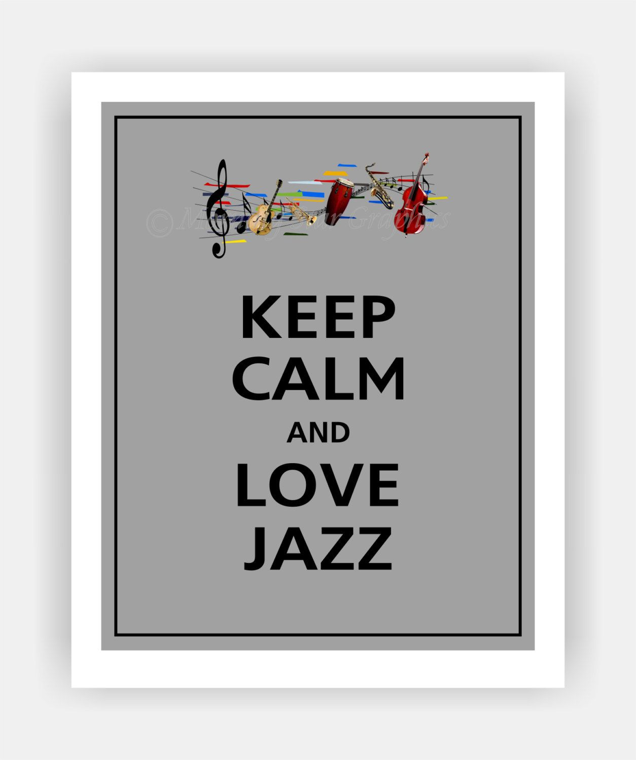 keep calm and love jazzy