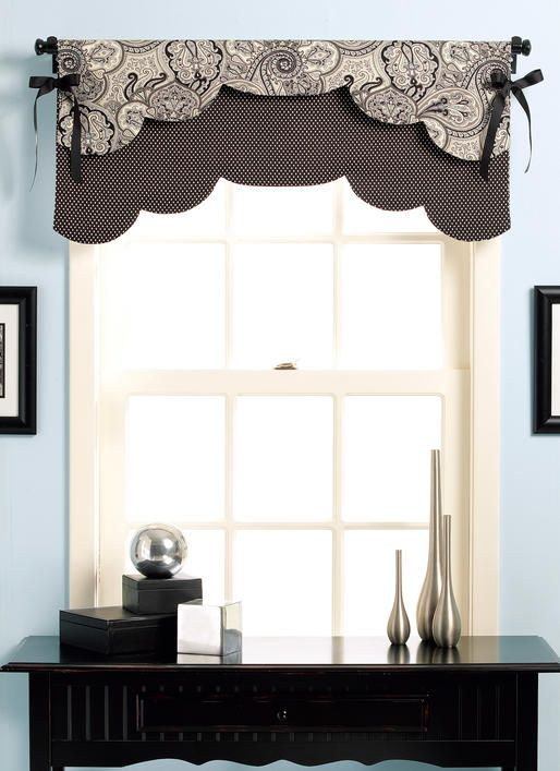B5369   Fast and Easy Reversible Valances Sewing Pattern   Butterick ...