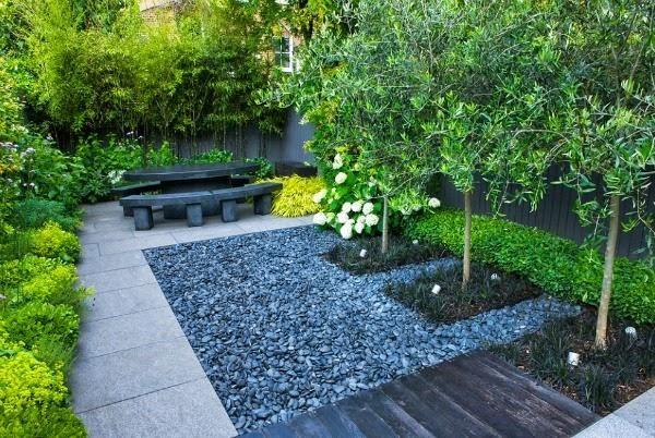 Un pequeño jardín urbano de aire oriental Cuidar de tus plantas es - diseo de jardines urbanos