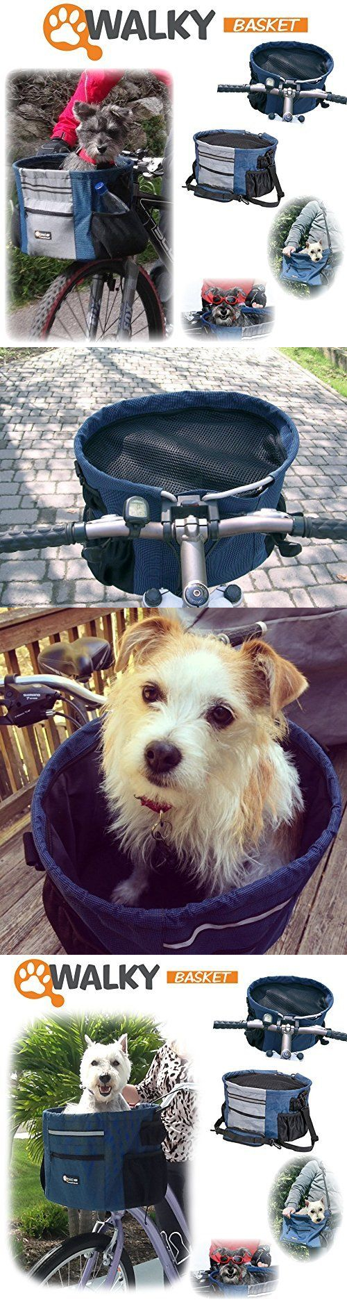 Bike baskets and trailers walky basket pet dog bike basket