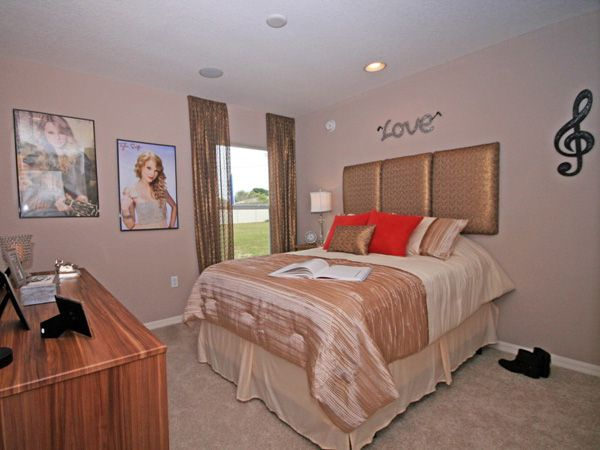Taylor Swift Inspired Bedroom, Great Idea For A Tween! Highland Homesu0027  Parker Model