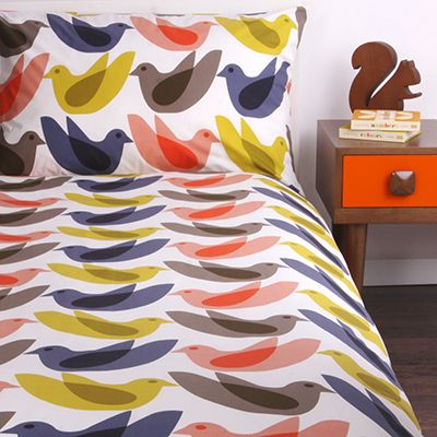 Orla Kiely - Kids Birdwatch duvet set
