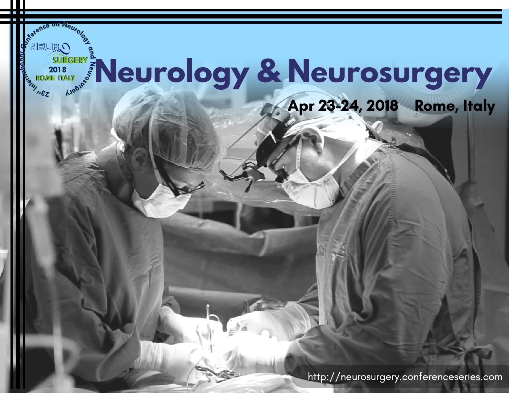 23rd International Conference on #Neurology & #Neurosurgery
