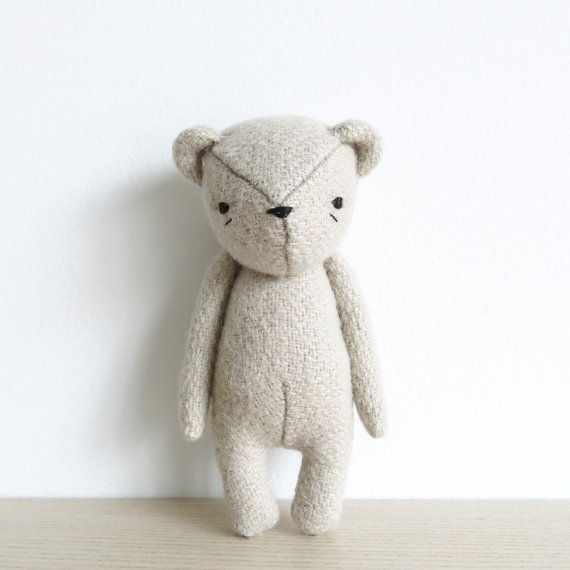 Sewing pattern - set of four | the dear ones bear, bunny, duck and ...