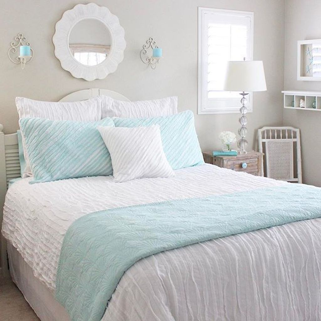 Best Nice 30 Awesome Beach Coastal Style Bedroom Decor Ideas 400 x 300