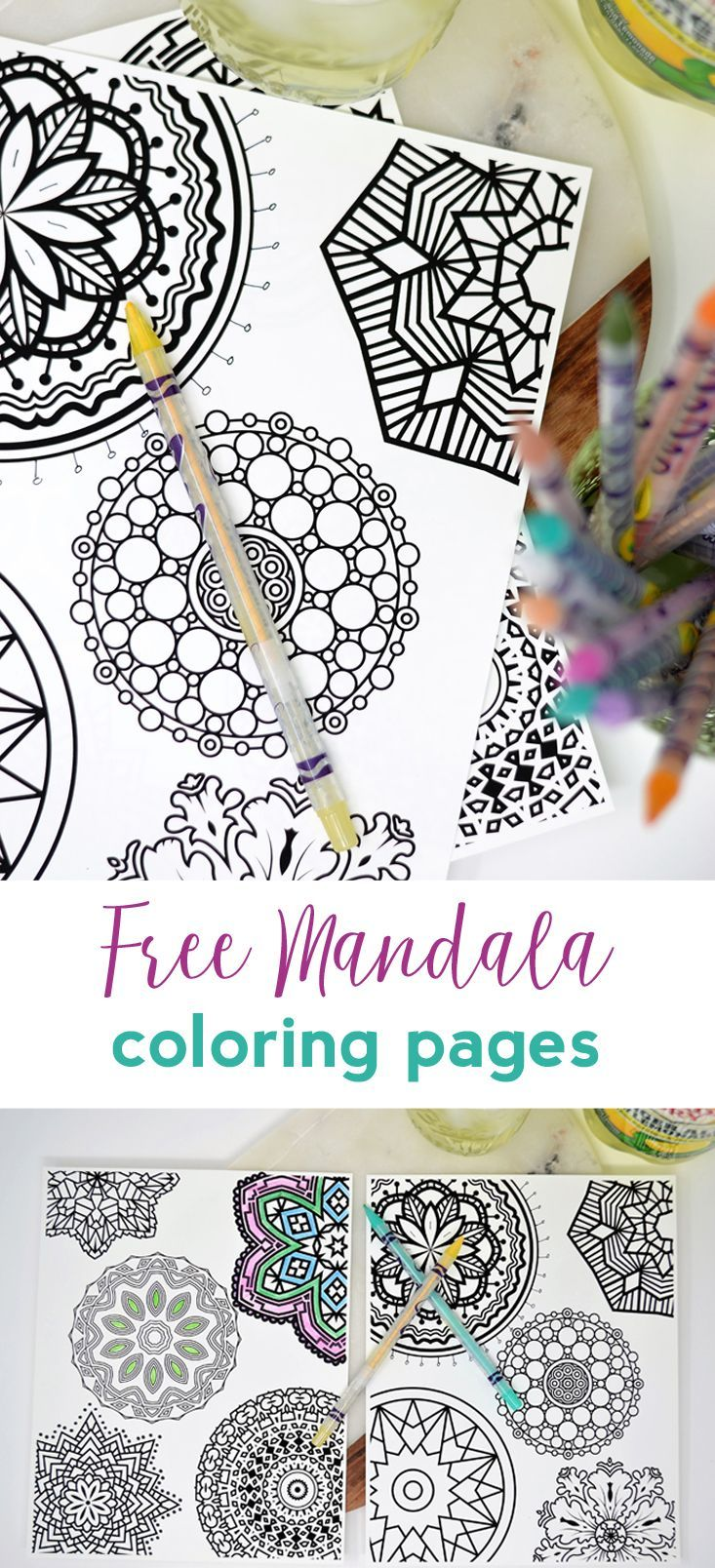 Free Mandala Coloring Pages How I Relax With Canada Dry Ginger Ale