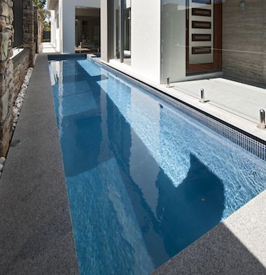 Wonderful Concrete Pool