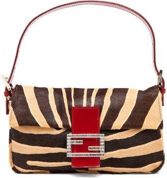 a3691305922 ... tote bag in red 92218 ecf17 sweden shopstyle fendi baguette in brown  zebra 18bc0 ef6b3 ...