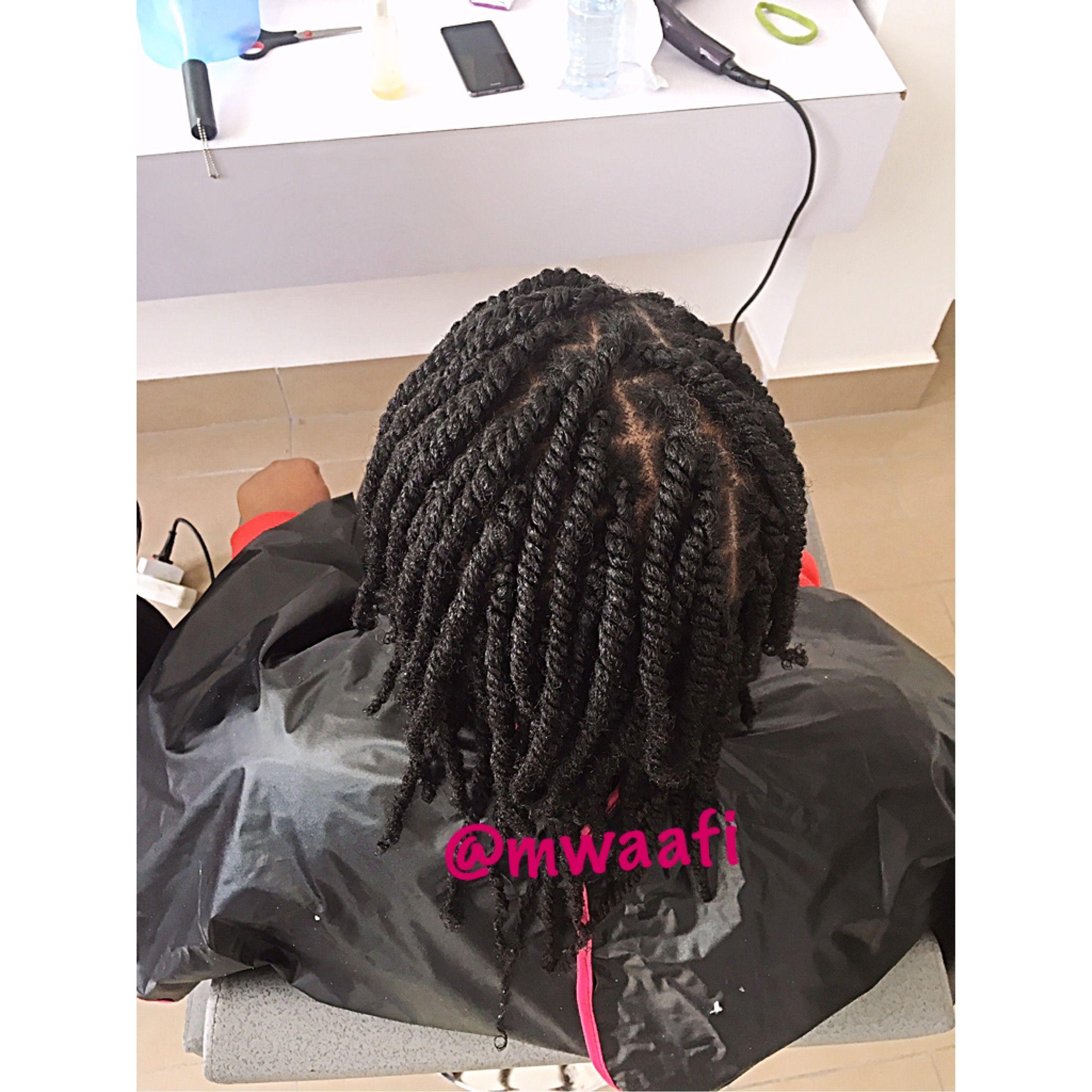 Salon Mwaafi Pointe Noire Congo Twists Vanilles Protectivestyles Naturalhairstyles Braids Hair Styles Dreadlocks Beauty