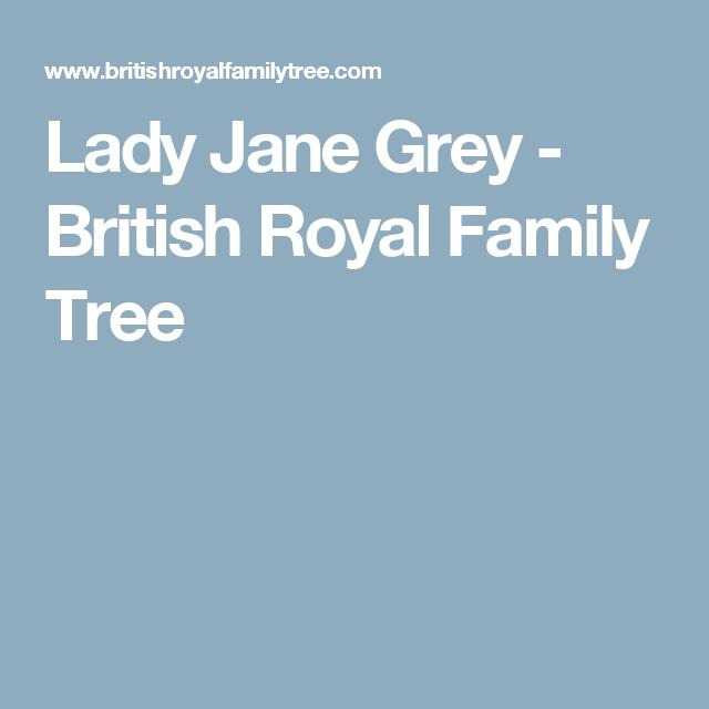 Lady Jane Grey - British Royal Family Tree | Lady jane ...