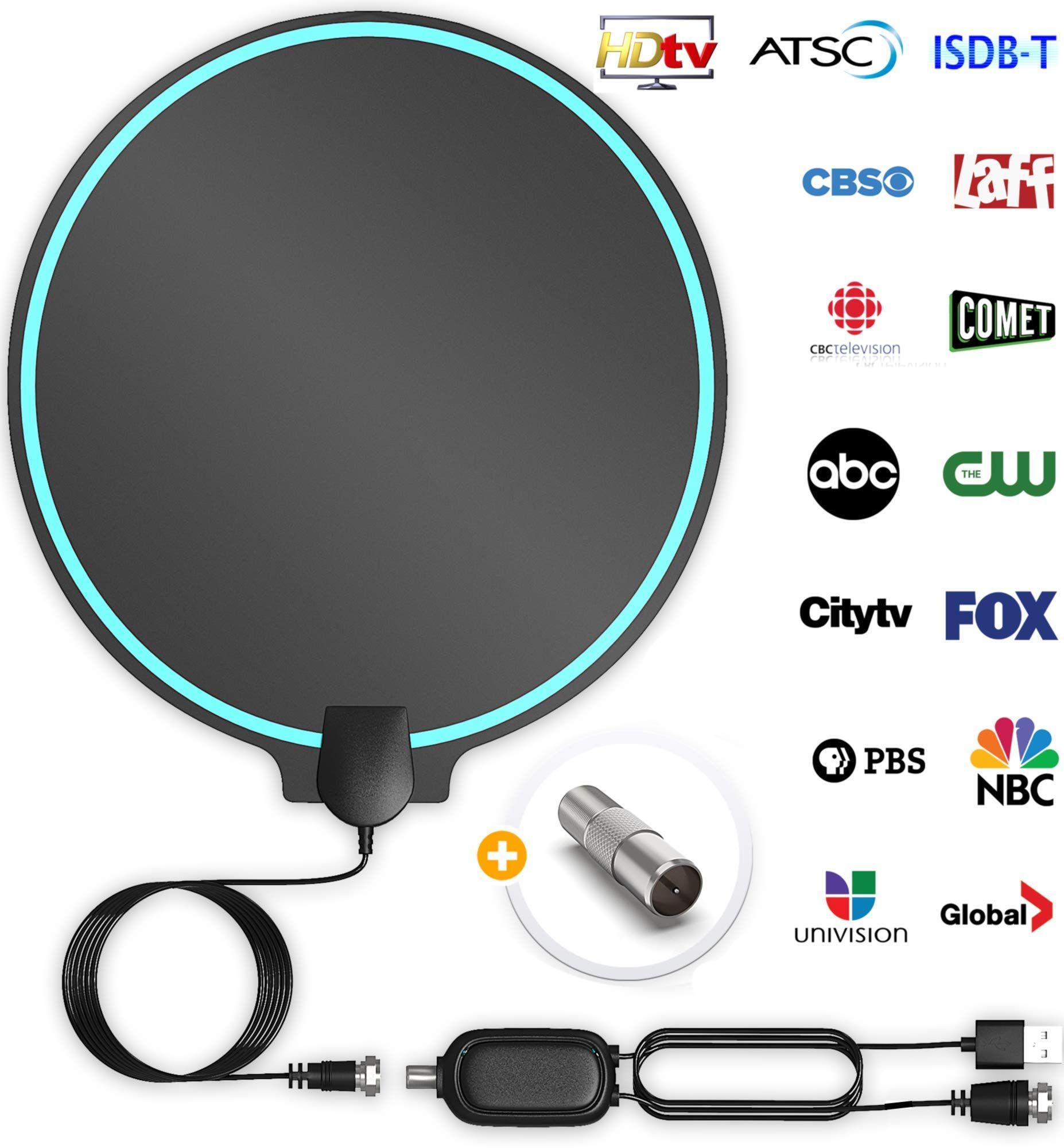 DrillTop Amplified HD Digital TV Antenna Best Ultra Long