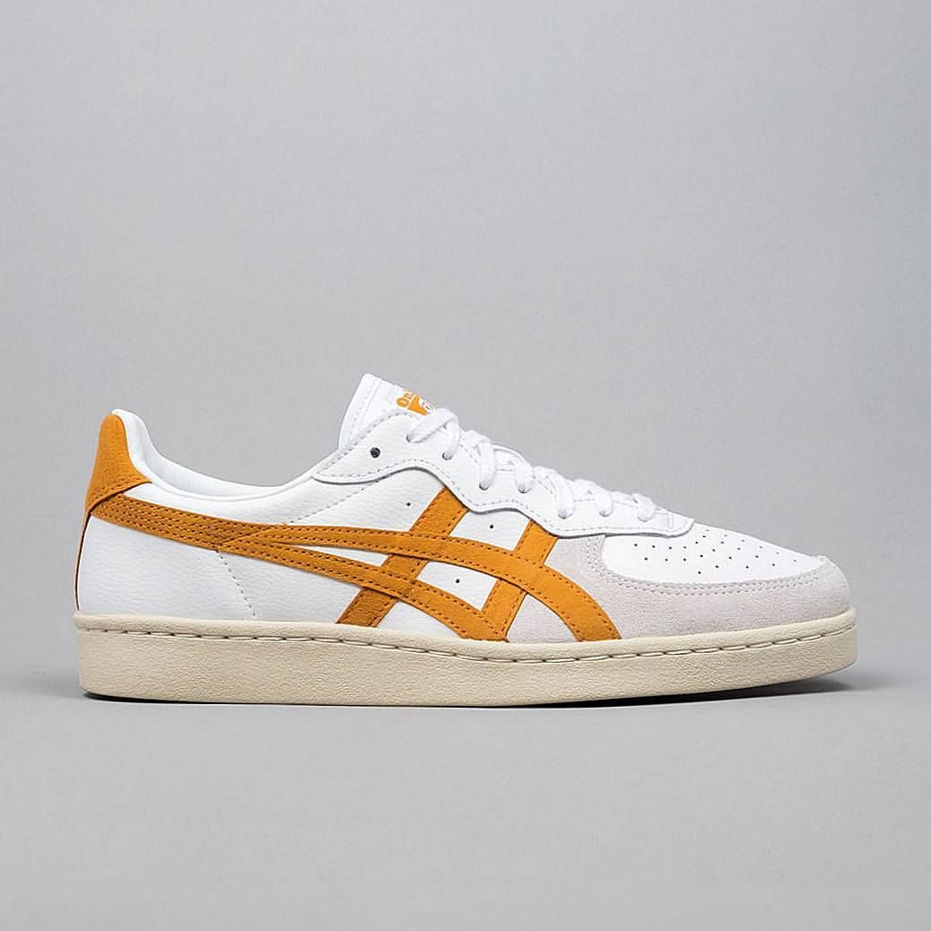 official photos cea5e cfd13 Onitsuka Tiger GSM: White/Honey Ginger   Sneakers: Onitsuka ...