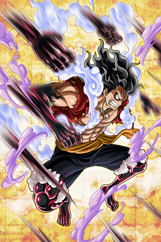 Luffy One Piece Snake Men Em Personagens De Anime Desenho De Anime Desenhos De Anime