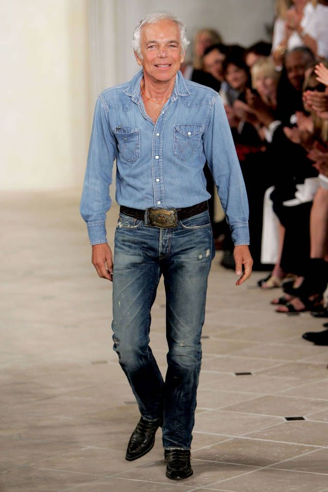 Thelist The Signature Style Of Fashion Designers Ralph Lauren Denim Fashion Design Mens Street Style