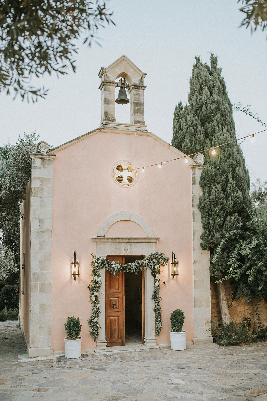 Photo of Love Island | Zoe and Yanni's Whimsical Greek Vineyard Destination Wedding | Festival Brides