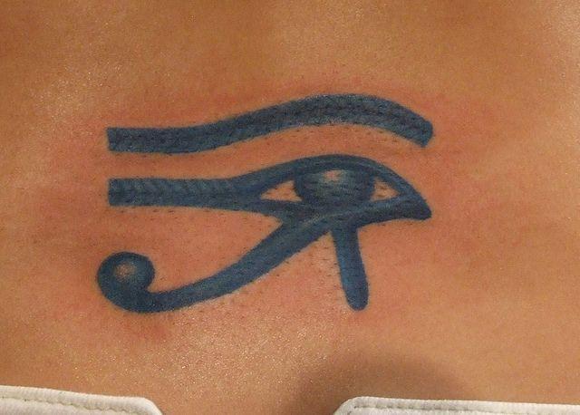 f4ebb20383712 Blue Eye of Ra Tattoo   Tattoo   Eye of ra tattoo, Eye of ra, Tattoos