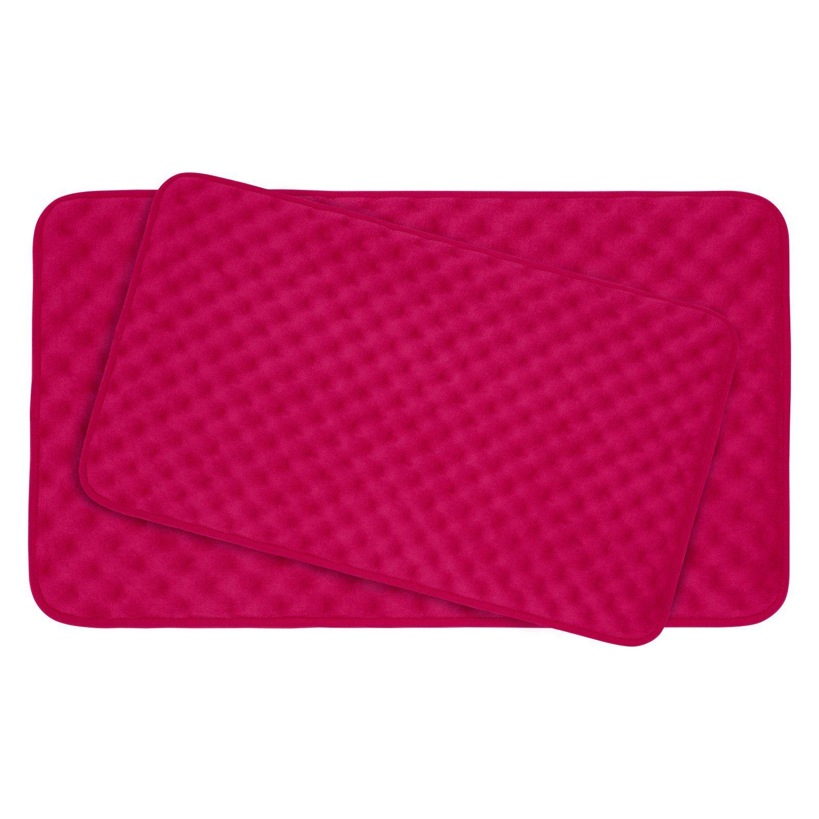 Bounce Comfort Massage Premium Extra Thick Memory Foam Bath Mat