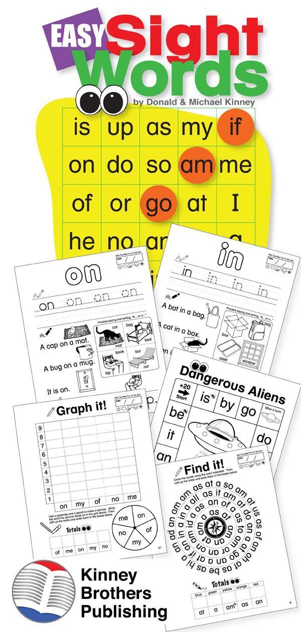 Easy Sight Words Worksheets | Best of Teachers Pay Teachers for ...