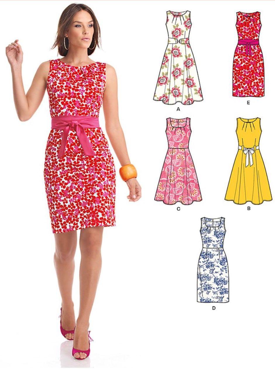 Pin tillagd av Karin Violin på Sy kläder   Mönster klänning