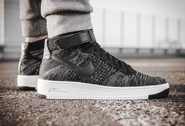 the best attitude 1d475 d1ae4 Nike Air Force 1 Ultra Flyknit Mid Oreo | Air force | Nike ...