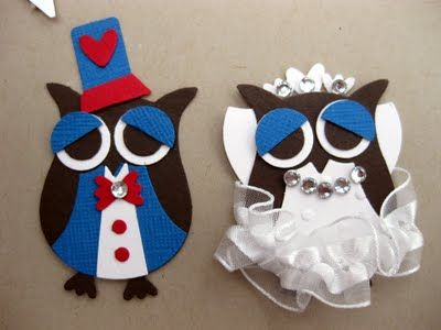 Party / Wedding / Prom Owls
