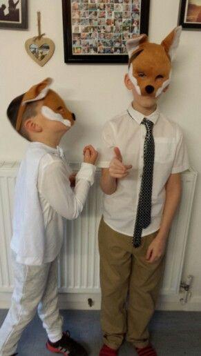 Fantastic mr fox costume with ash do it yourself pinterest fox fantastic mr fox costume with ash solutioingenieria Gallery