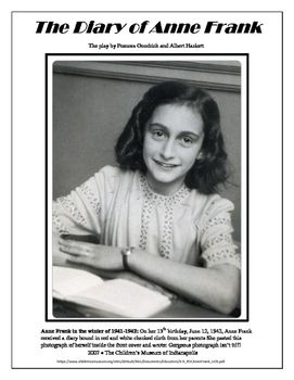 Diary of Anne Frank Play Complete Unit Student Ready ...