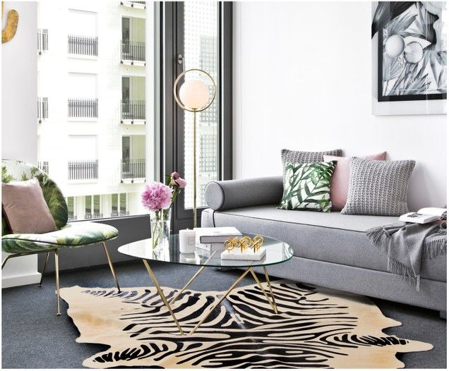 Tappeto in pelle di mucca Zebra | Home decor, Furniture, Decor