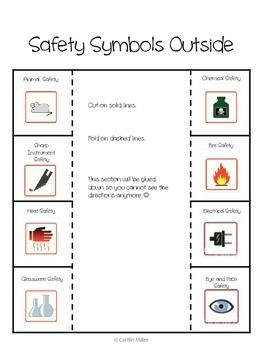 Science-Safety-Symbols-Foldable-Freebie-1343079 Teaching Resources ...