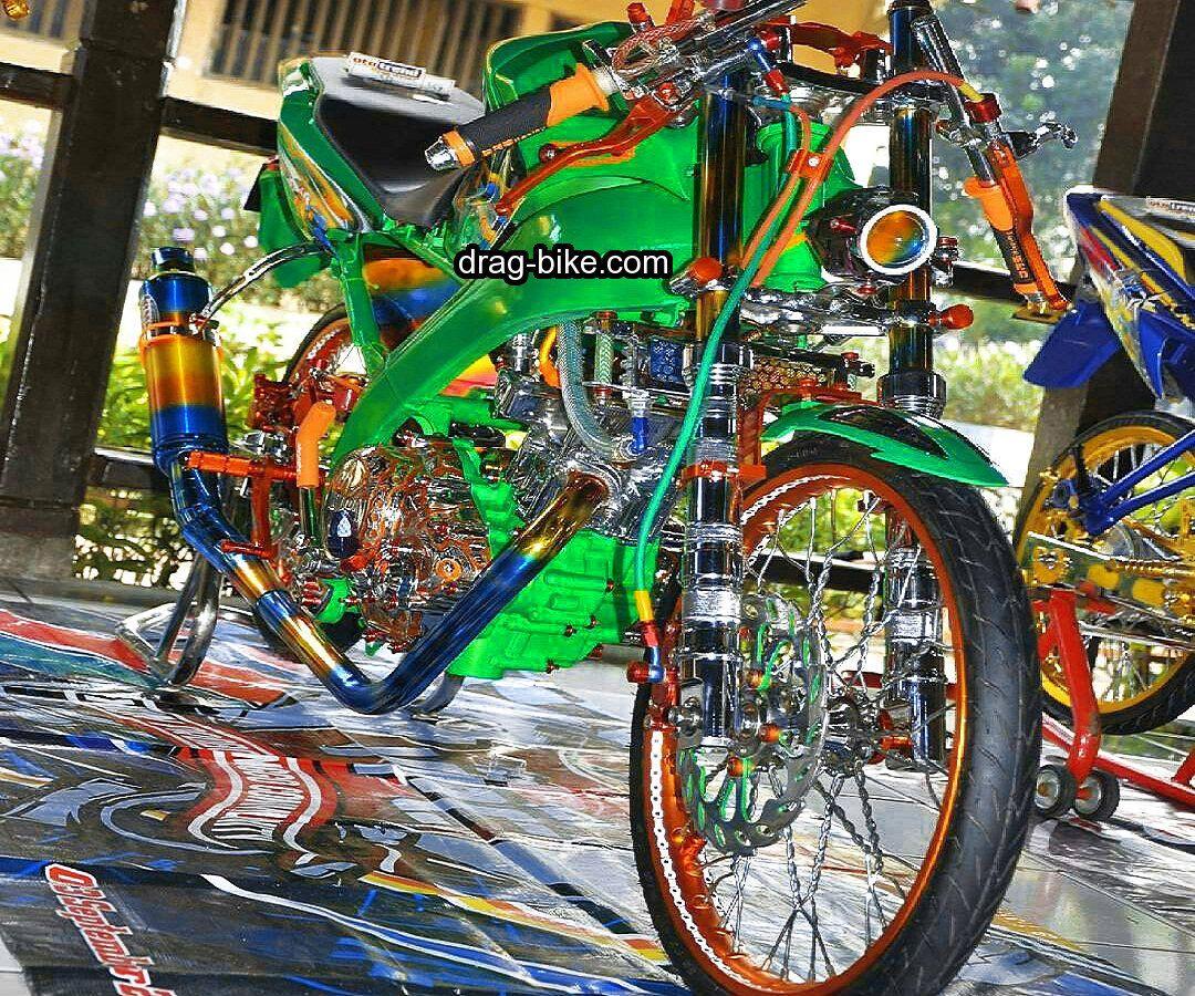 Gambar Motor Vixion Modifikasi Keren Gambar Motor Kawasaki Ninja