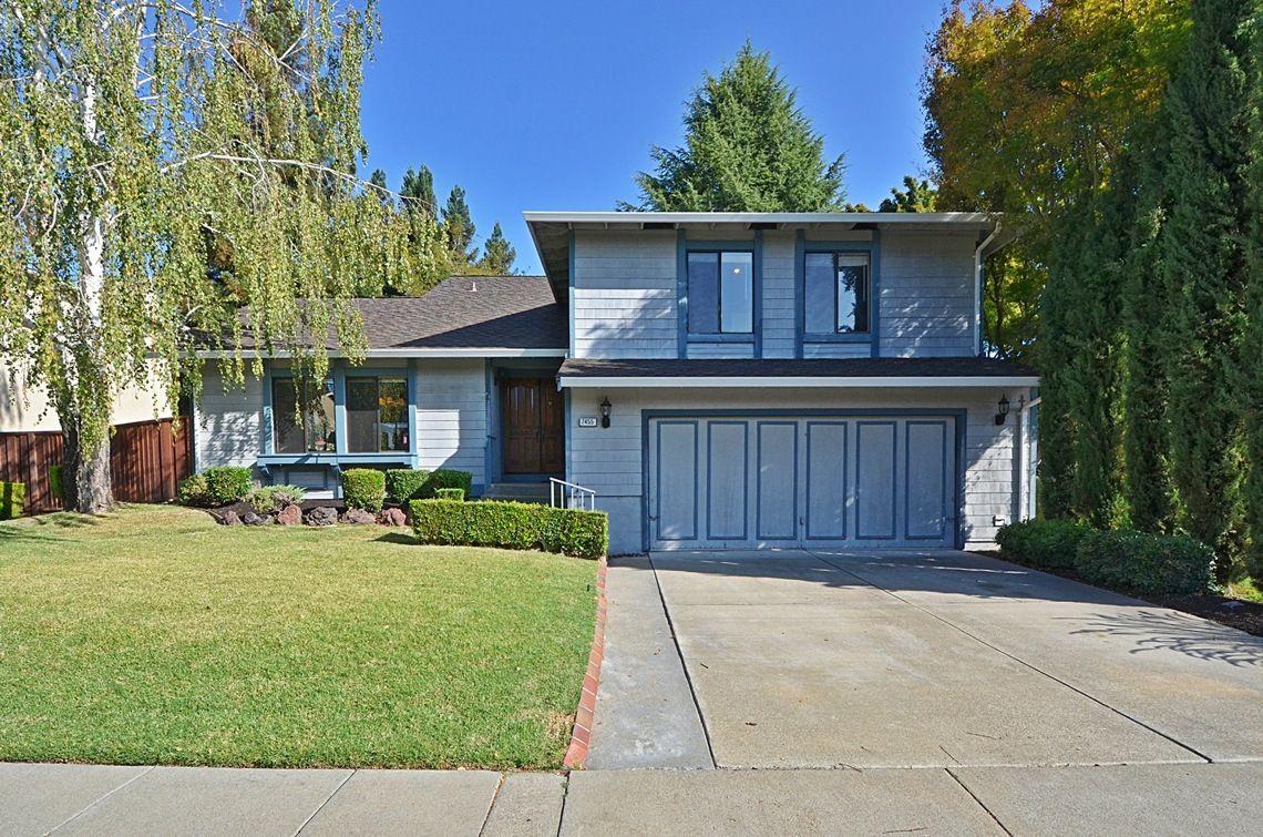 7455 Ginger Court, Pleasanton, CA 94588 (MLS#40712369) Status: Active $909,000.  Bedrooms: 4,  Bathrooms: 3, Home Size: 2,356 sq ft, Lot Size: 6,385 sq ft.,