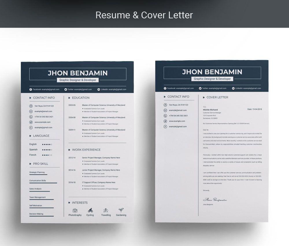 John Resume Template 71205 Resume template, Templates