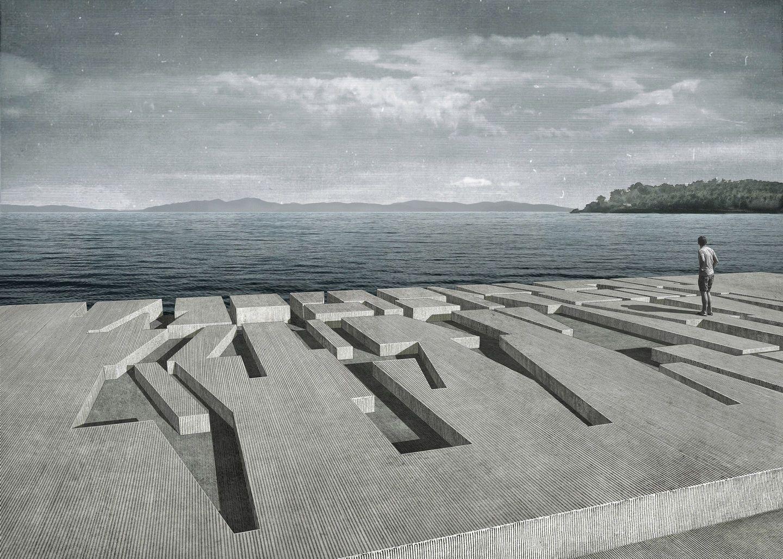 Kostas Manolidis A Study In Erosion Divisare Architectural Practice Architecture Architecture Rendering