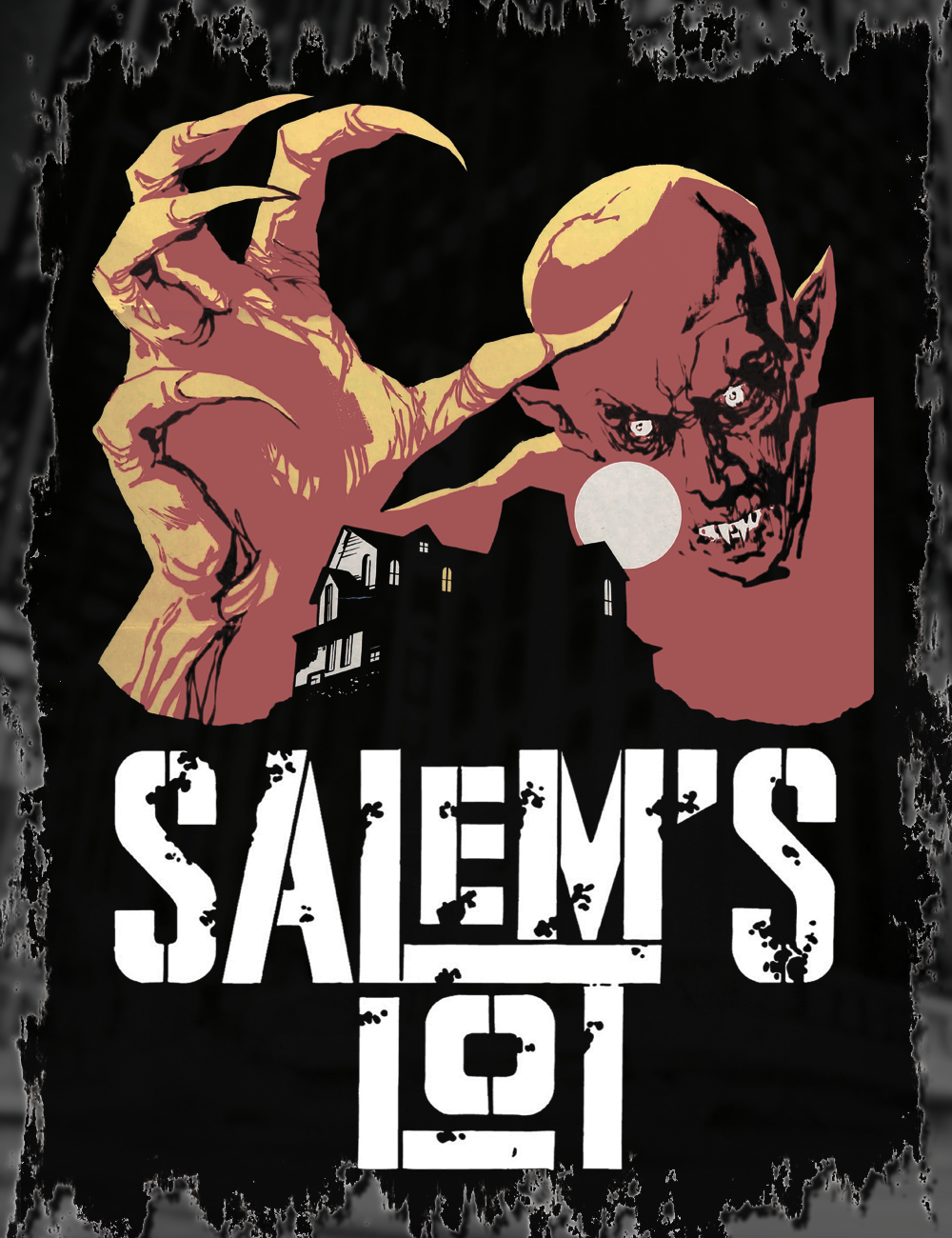 a29e9dc5f8e Salem s Lot T-Shirt. Find this Pin and more on Hellwood Tees by Hellwood  Outfitters.